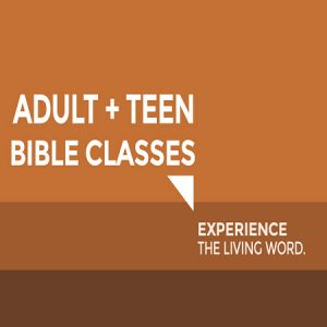 Bible Study - Adults & Teens
