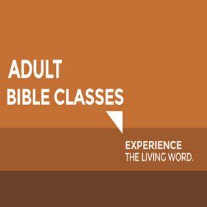 Bible Classes - Adult