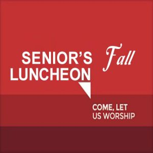 Senior's Fall Luncheon